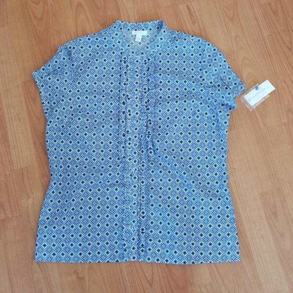 fb38e15b207 short sleeve blouse